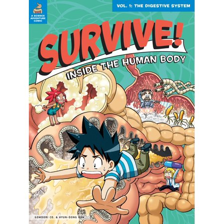 Survive! Inside the Human Body, Vol. 1 : The Digestive