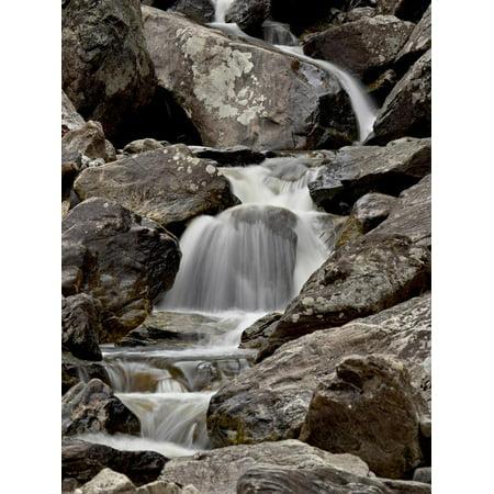 Colorado Cascade - Cascades Downstream of Fish Creek Falls, Routt National Forest, Colorado, USA Print Wall Art By James Hager