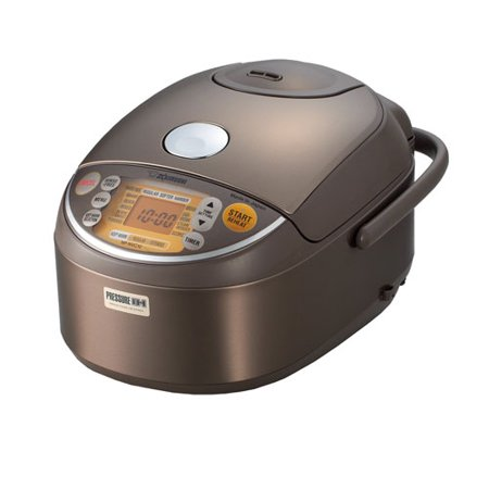 Zojirushi NP-NVC10 Induction Heating Pressure Rice Cooker & Warmer + Cooking Book + Spatula Spice Set + Stainless Measuring Cup Set Zojirushi Rice Cooker Parts