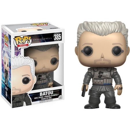 FUNKO POP! MOVIES: GHOST IN THE SHELL - BATOU - Ghost Prop