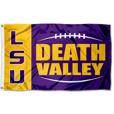 Louisiana State LSU Tigers Death Valley 3' x 5' Pole Flag