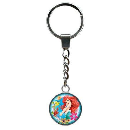 Little Mermaid Keychain Key Ring](Little Mermaid Rings)
