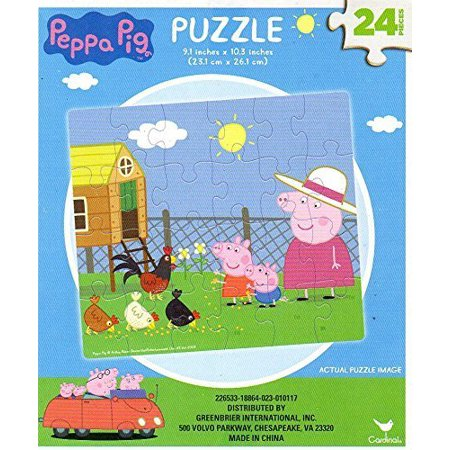 Peppa Pig - 24 Pieces Jigsaw Puzzle - v3 - Pig From Saw