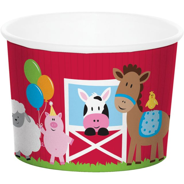 Access Treat Cups, Farmhouse Fun, 6 Ct
