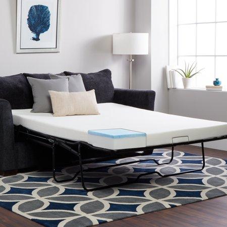 Select Luxury  Gel Memory Foam 4.5-inch Sleeper Sofa Replacement Mattress (Mattress