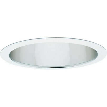 "Progress Lighting P8030-AFB 6"" Reflector Trim for Two Horizontal CFL Lamps and F"