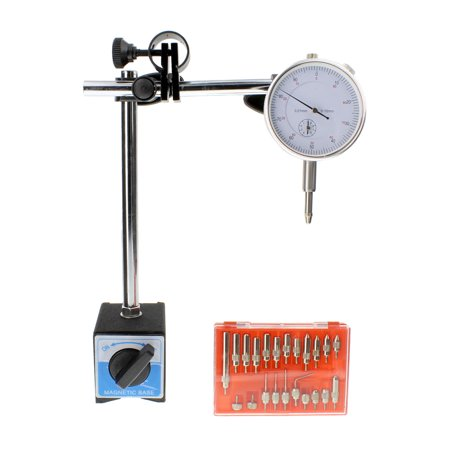 ABN | Dial Indicator with Magnetic Base and 22 Pc Indicator Point (Dial Indicator Magnetic Base & Point Set)