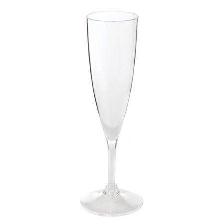 TRUE Hardy™: Acrylic Champagne Glasses ()
