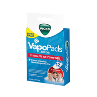 Vicks VapoPad Family Pack 12 Pack, VSP19-FP