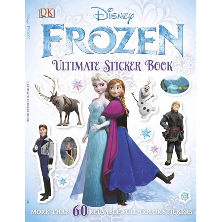 Ultimate Sticker Book: Frozen (The Best Frozen Vegetables)
