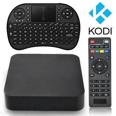 eWarehouseDirect [Free Wireless Mini keyboard] Quad Core MTQ Smart TV BOX Mini PC Streaming Media Player with KODI(XBMC) Streamer 1GB/8GB,Google Android 4.4 KitKat,CPU Amlogic S805, 1.5 GHz