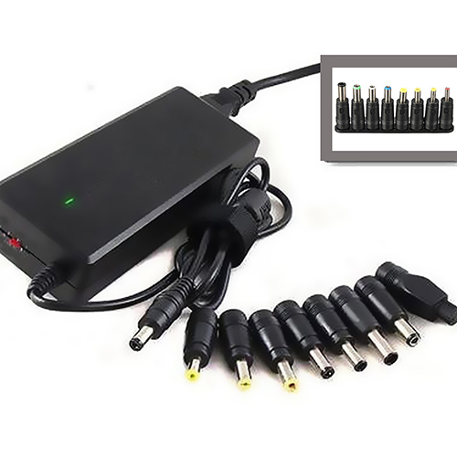 Girl12Queen 8 in 1 Universal AC DC Power Charger Adapter Tips for ACER ASUS HP Laptop Notebook