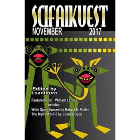 Scifaikuest November 2017 - eBook
