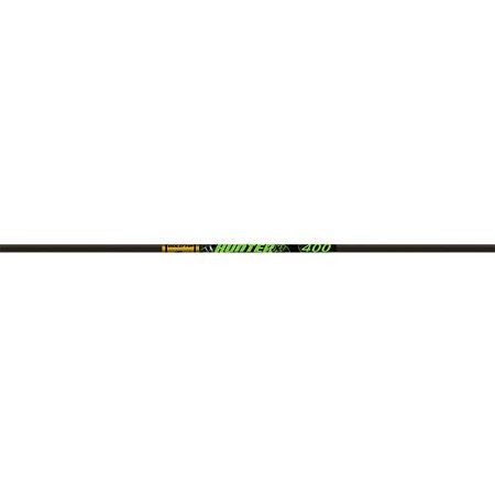 Gold Tip Hunter XT Arrow Shafts, Pack of 12, Black, 300