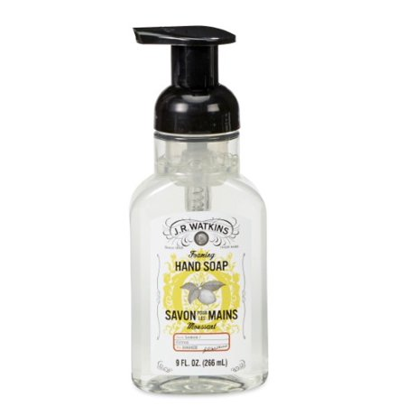 Foaming Hand Cleaner (J.R. Watkins Foaming Hand Soap, Lemon, 9 Oz Pump )