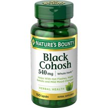 Vitamins & Supplements: Nature's Bounty Black Cohosh