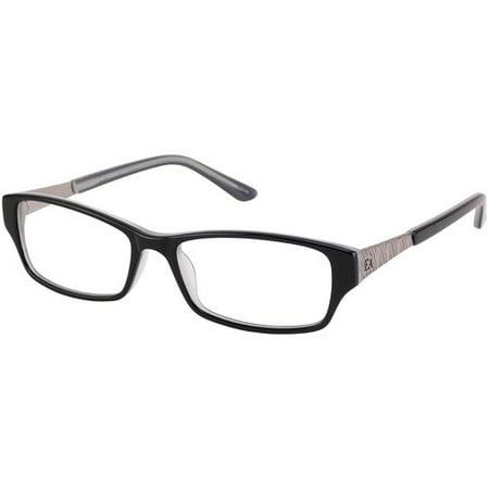 f67dd33df Elizabeth Arden Women's Prescription Glasses, EA 1115A -- Black -  Walmart.com