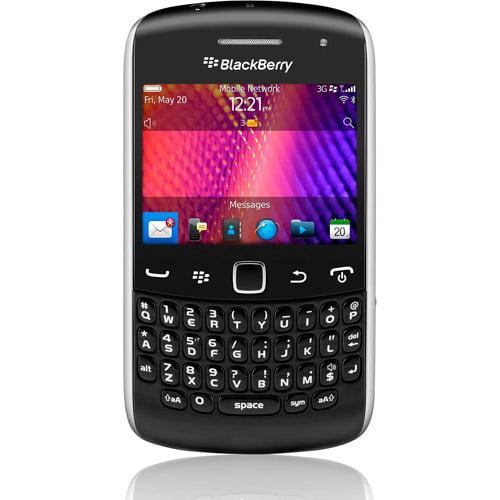 Blackberry Curve 9360 Unlocked GSM Phone In Black