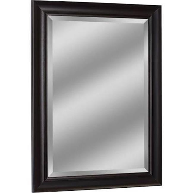 head west 6266 30.5 x 42.5 in. framed wall mirror - espresso