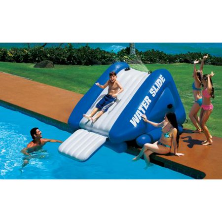 Soo Much Fun Swimming Pool Water Slide Intex Kool Splash Fun Exercise New Ebay