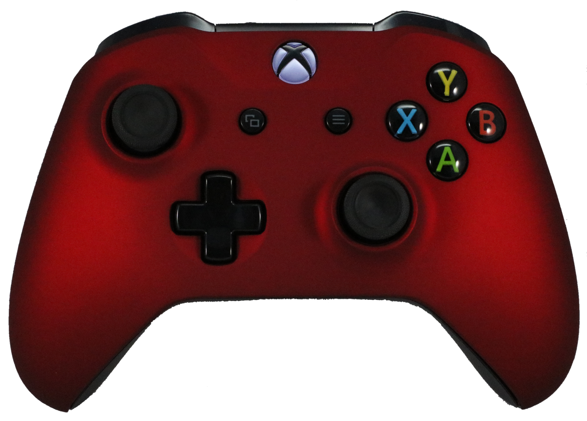 Microsoft Xbox One S Soft Touch Custom Controller Red Soft Shell For Comfort Grip X by