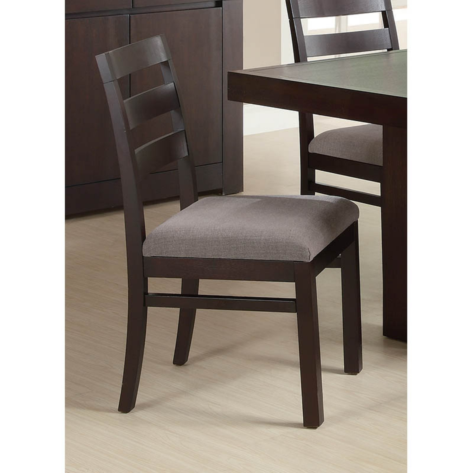 Coaster Furniture Dabny Ladder Back Dining Side Chair - Set of 2
