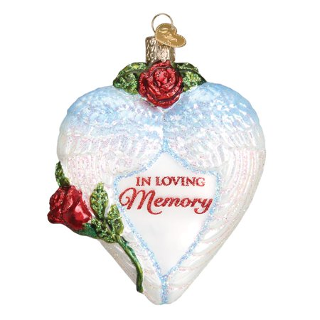 Old World Christmas In Loving Memory Ornament #30050 ()