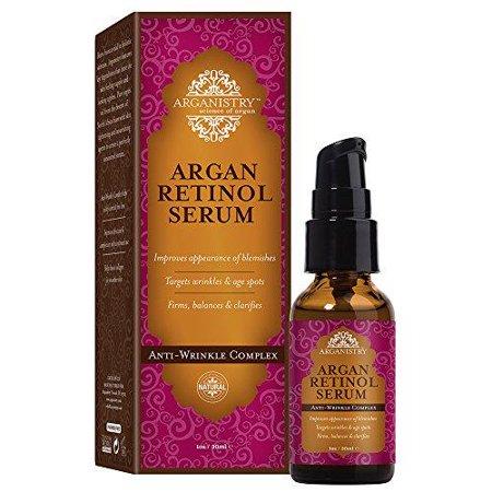 Arganistry Argan Retinol Serum Anti Wrinkle Complex 1 Oz