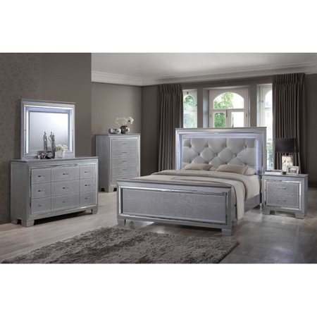 Best quality furniture panel 4 piece bedroom set for Best bedroom furniture sets