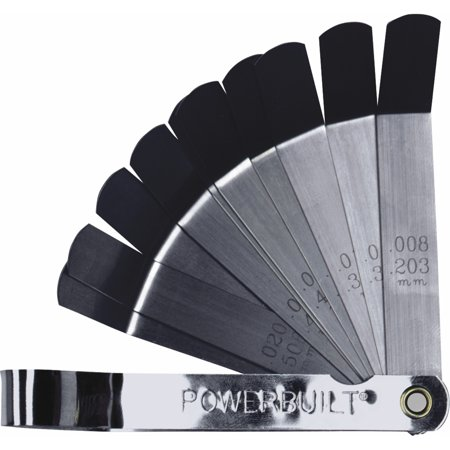 Powerbuilt 9 Blade Tappet Feeler Gauge - 648515 ()