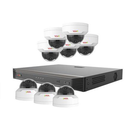 Revo America RU162MD8G-3T Ultra HD 16 Channel 3TB NVR Surveillance System with 8 x 4 Megapixel Cameras - image 1 of 1