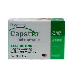 CAPSTAR Green FAST ACTING for Dogs Over 25 lbs. 60 Tabs