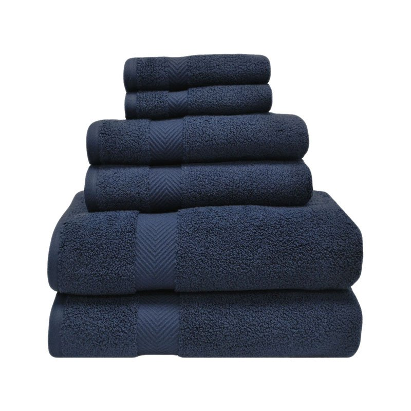 Superior 100% Zero Twist Cotton Super Soft and Absorbent 6-Piece Towel Set