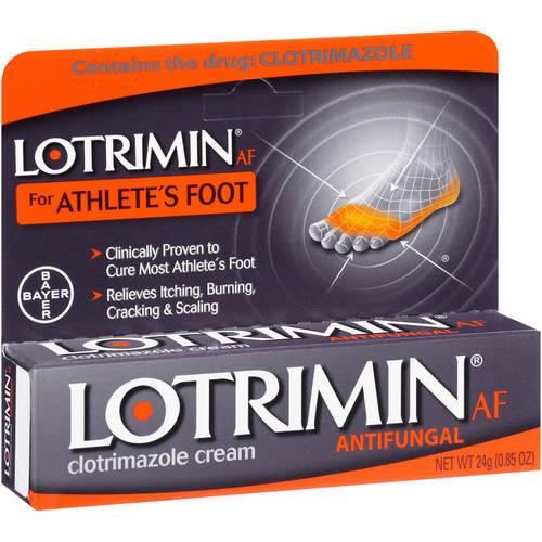 Lotrimin Athlete's Foot Cream, 0.85 Oz