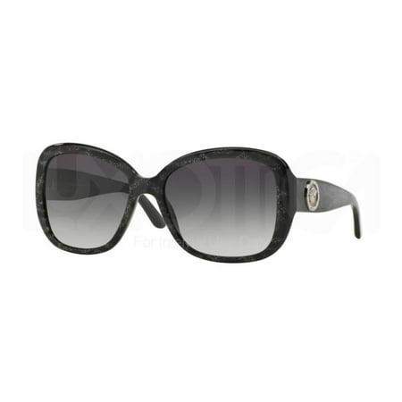 c9b6a9036ee1 Authentic Versace Sunglasses VE4278B 5136 8G Black Glitter Frames Grey Lens  57MM