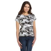 Code Five Ladies' Fine Jersey Camouflage T-Shirt 3665