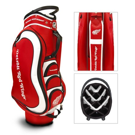 Team Golf NHL Detroit Red Wings Medalist Golf Cart Bag
