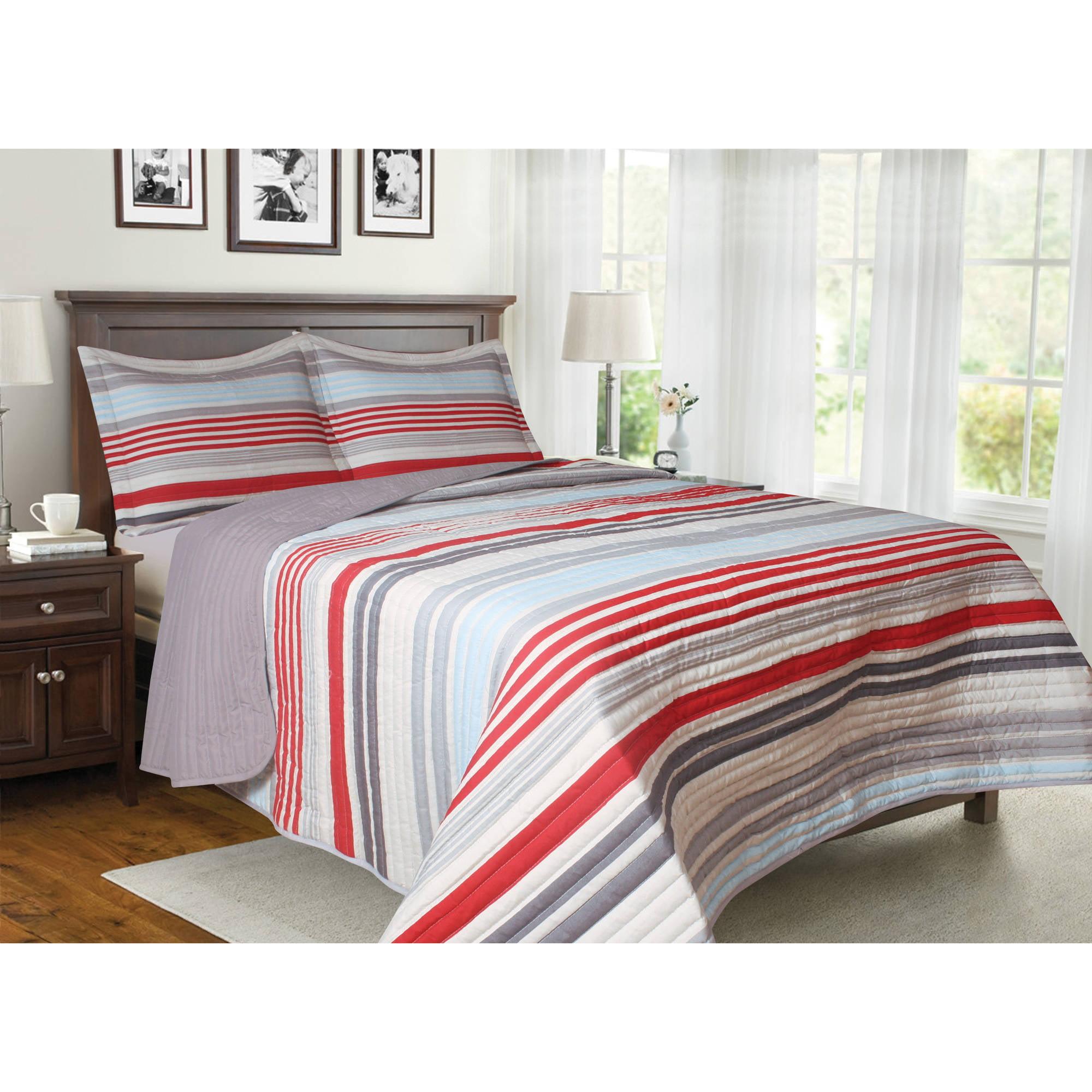 Generic Solaris Soft and Cozy Microfiber Bedding Quilt Set