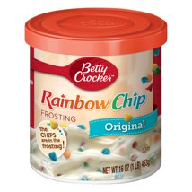 Frosting & Decorations: Betty Crocker Rainbow Chip Frosting