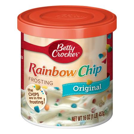 (8 Pack) Betty Crocker Original Rainbow Chip Frosting, 16 oz