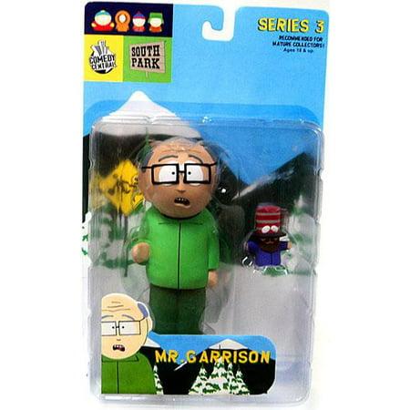 South Park Series 3 Mr. Garrison Action Figure