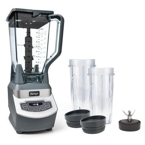 Ninja Professional with Single Serve Cups 3 Speed Blender Silver (BL660)