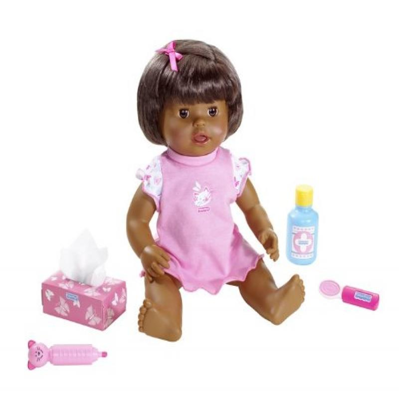 Little Mommy Baby Ah-Choo African American Doll
