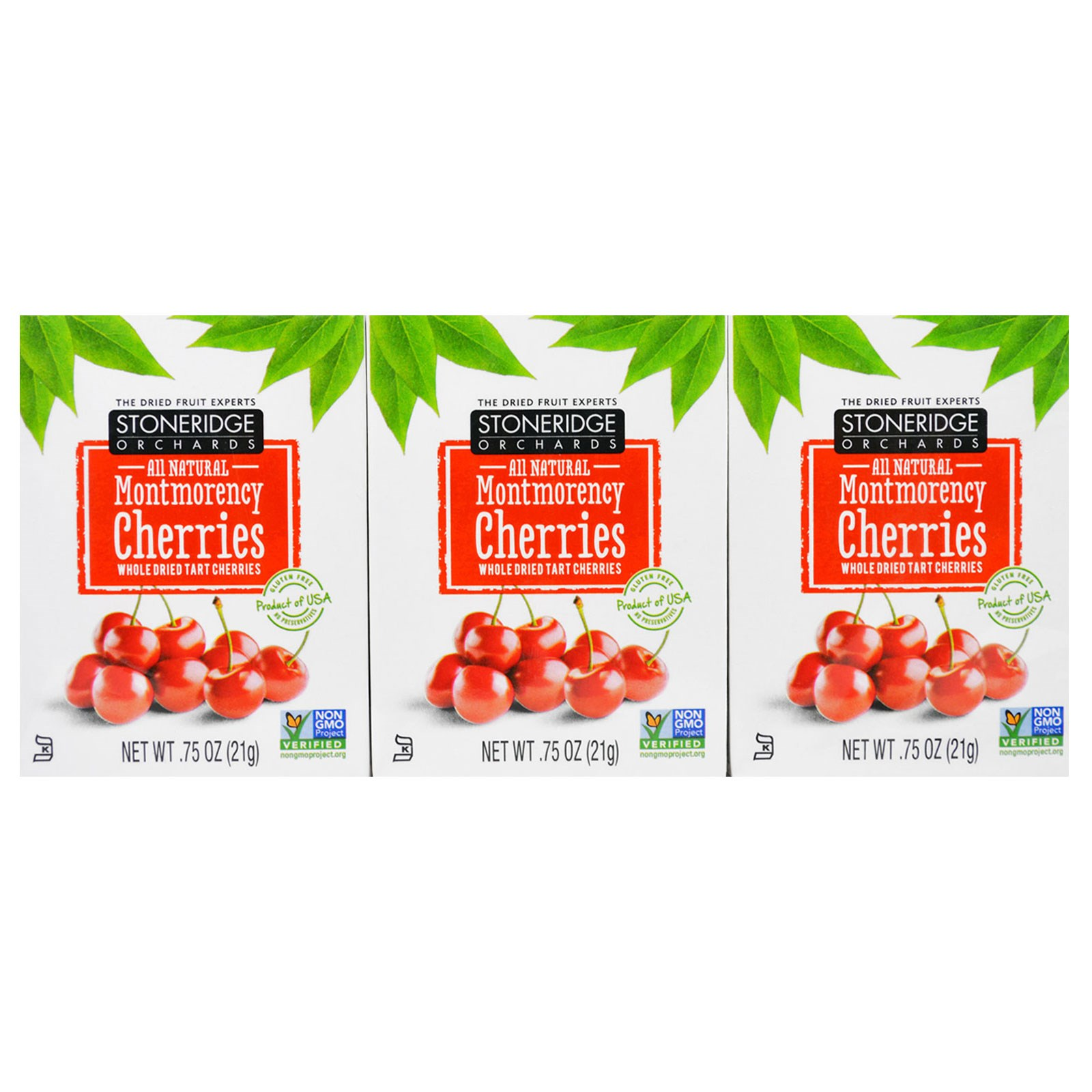 Stoneridge Orchards, Montmorency Cherries, Whole Dried Ta...