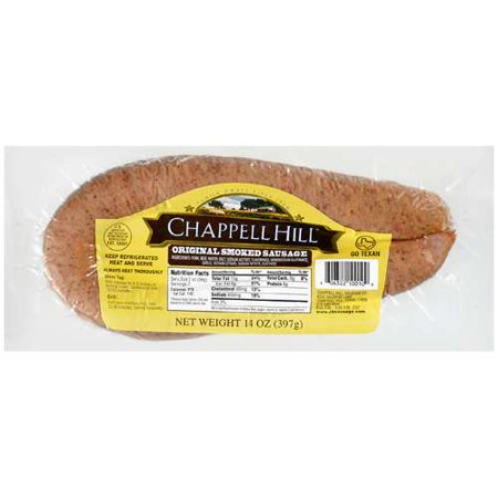 Chappell Hill Original Smoked Sausage, 14 Oz. ()