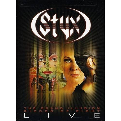 Grand Illusion / Pieces Of Eight Live (Music DVD)
