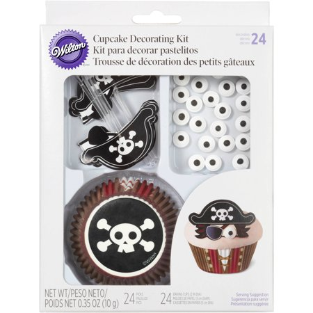Wilton Cupcake Decorating Kit, Pirate 24 ct. - Cupcake Decorating Ideas