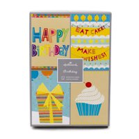 Product Image Hallmark Assorted Birthday Greeting Cards Icons 12 And Envelopes