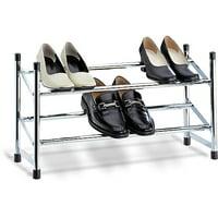 Neu Home Expandable Shoe Rack, Chrome