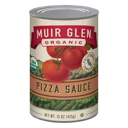 Muir Glen Organic, Gluten Free, Pizza Sauce, 15 oz